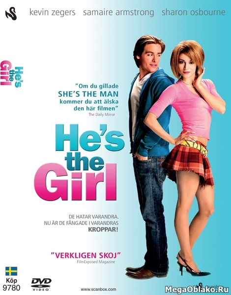 Мальчик в девочке / It's a Boy Girl Thing (2006/HDTV/DVDRip)
