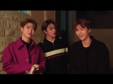 180830 Johnny, Jaehyun & Lucas (NCT) @ Esquire Facebook Update