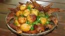 Казан кебаб Нежная сочная баранина с картофелем в казане