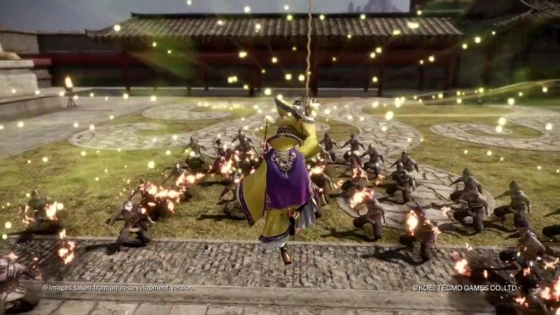 Персонаж Yuan Shu из дополнения Additional Scenarios Pack для игры Dynasty Warriors 9!