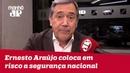 Ernesto Araújo é ignorante e coloca em risco a segurança nacional MarcoAntonioVilla