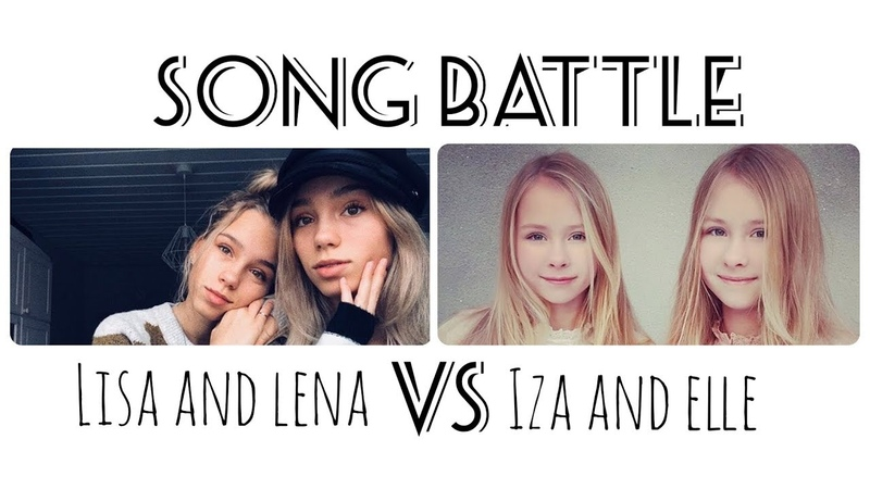 Musical.ly Song Battle Compilation | Lisa and Lena VS Iza and Elle | Part 3