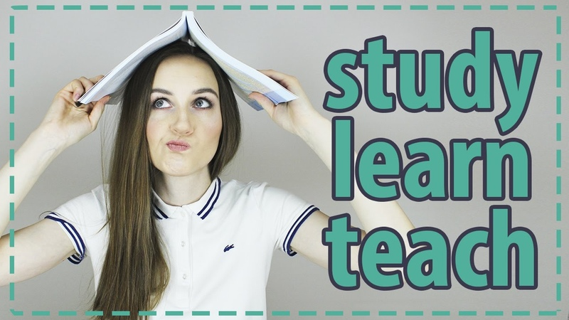 Разница между STUDY, LEARN и TEACH - English Spot