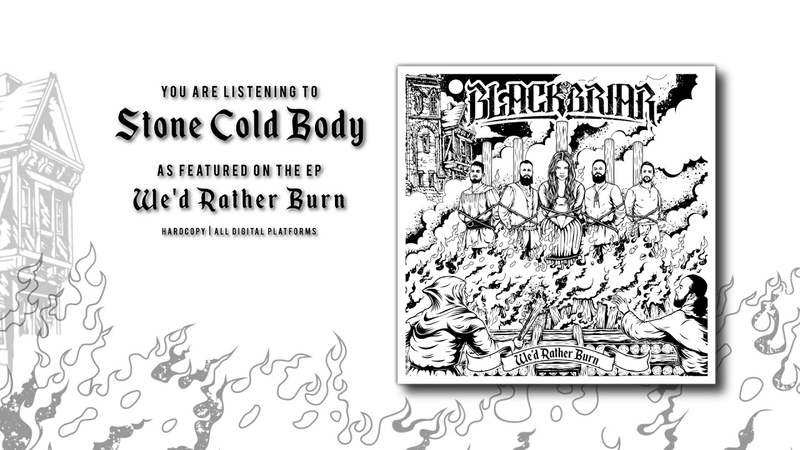 Blackbriar - Stone Cold Body (Official Audio)