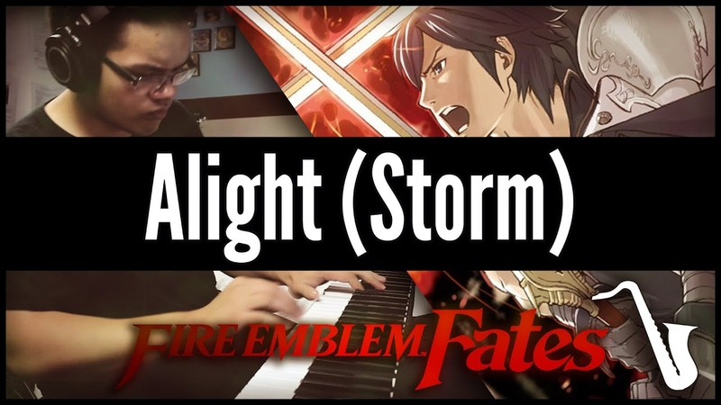 Fire Emblem Fates Alight Storm Jazz Cover insaneintherainmusic feat Crowdsourced Clappers