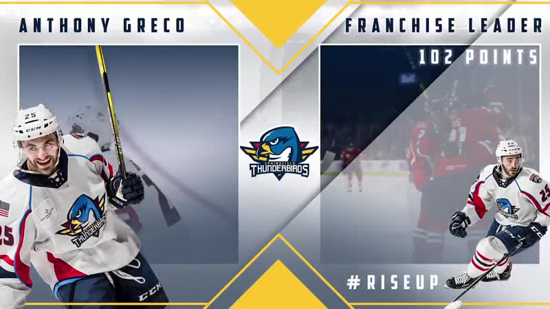 T-Birds franchise points leader Anthony Greco has been recalled by FlaPanthers RiseUp