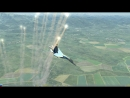 Пилотаж с ПУА (предельные углы атаки) на Су-27 в DCS World. ( В моём исполнении)