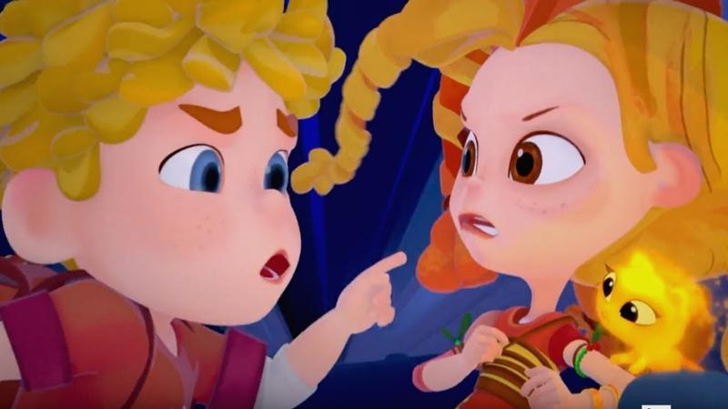 Сказочный патруль - Бело-Снежка - Серия 19 - Мультфильм о девочках-волшебницах