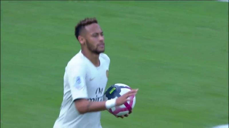 Генгам - ПСЖ (гол Неймара) | Чемпионат Франции (2 тур) | 18.08.2018