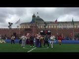 11 июля месте со звёздами футбола на Красную площадь вышли СЕРГЕЙ ВОЙТЕНКО, БАЯН МИКС и другие музыканты! 02