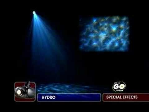 продаю световой прибор HYDRO - light effect by American DJ (On-The-Go-Series)