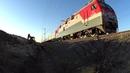 Обход Украины. Новая железнодорожная линия Журавка - Миллерово. Состояние ноябрь 2018 г.