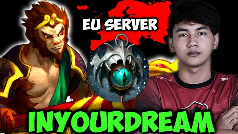 Inyourdream Monkey King Skadi - Intense Game in EU Server