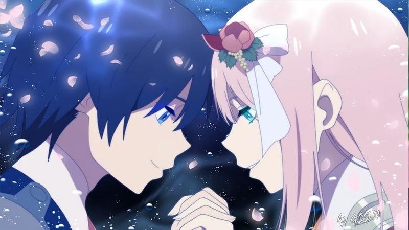 Darling in the FranXX AMV Zero Two x Hiro Love ain't Perfect