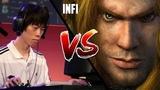 WC3 Moon (Night Elf) vs. Infi (Human) BlizzCon 2010 LF G3 Warcraft 3