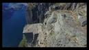 Aerial Preikestolen pulpit Rock in 4K