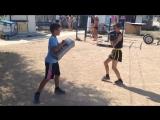 Ушу-саньда, летние тренировки на свежем воздухе