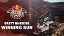 One Run and Done | Brett Rheeder's Winning Run at Red Bull Rampage 2018