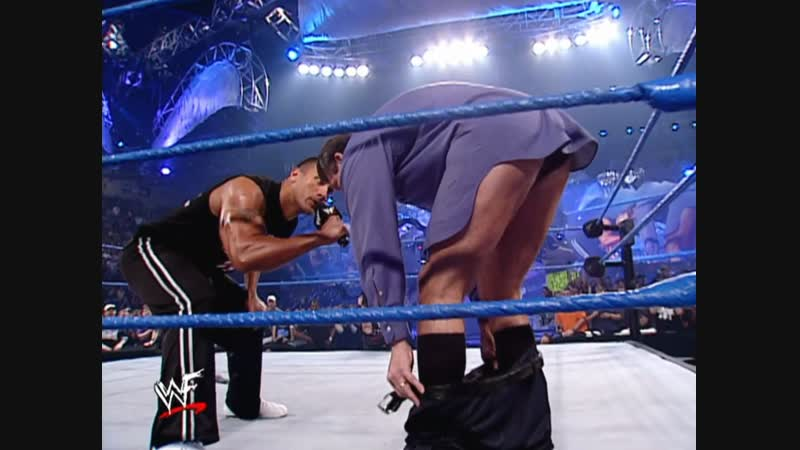 Vince McMahon wanted Trish Stratus to become the next member of the Vince McMahon Kiss My Ass Club 11 29 2001