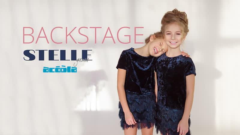BACKSTAGE | Съемки зимней обложки Мелодии Рождества| Журнал STELLE дети