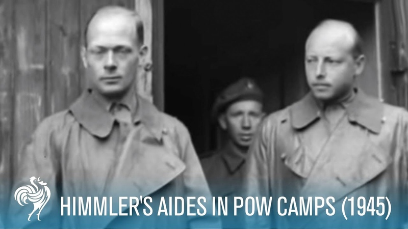 Himmler's Aides In POW Camps: World War II (1945) | British Pathé