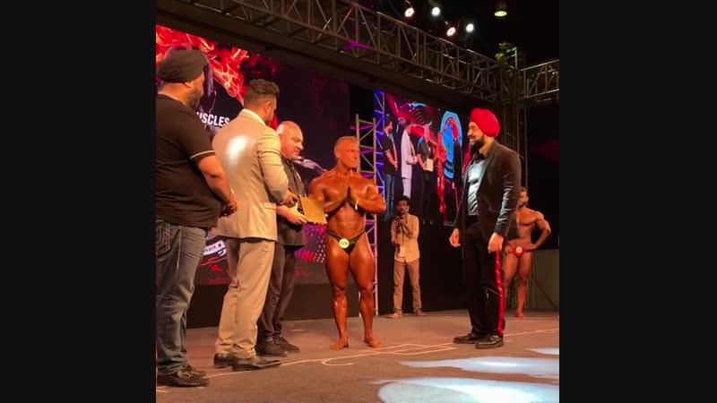 🎉Момент победы! Владимир Яковлев стал новым IFBB PRO! Сегодня Володя стал чемпионом Sheru Classic! НАШИ ПОЗДРАВЛЕНИЯ!