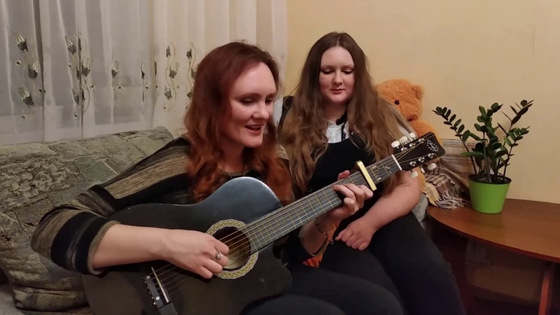 Hallelujah - guitar cover by two sisters