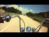 Cruising to the music of Motorhead