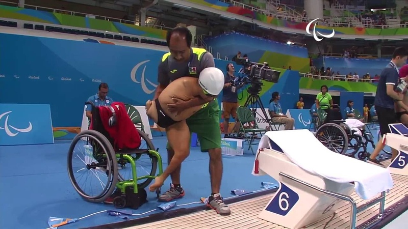 Swimming | Men's 50m Breaststroke - SB2 Heat 2 | Rio 2016 Paralympic Games