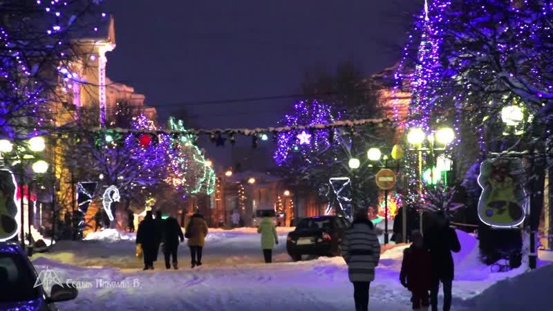 Волшебно. Новогодняя Торговая 2018-2019г. Видео Николая Седых, HD видео.