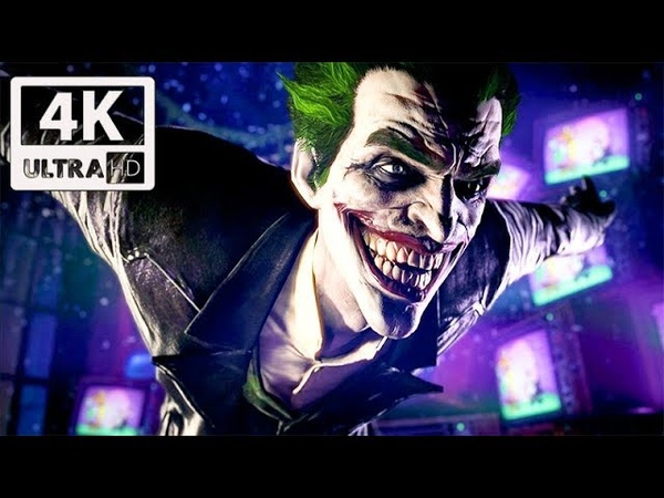 The Joker's Story (Arkham Series) 4K 60FPS