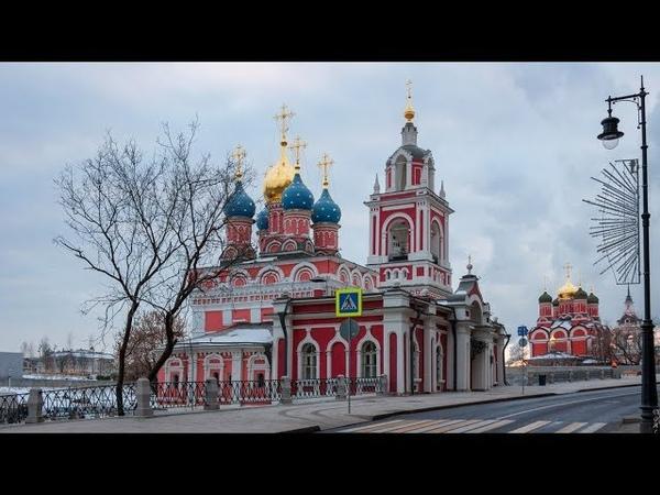 Георгиевская Церковь на Варварке ( Церковь Георгия Победоносца на Псковской горе ) в Москве.