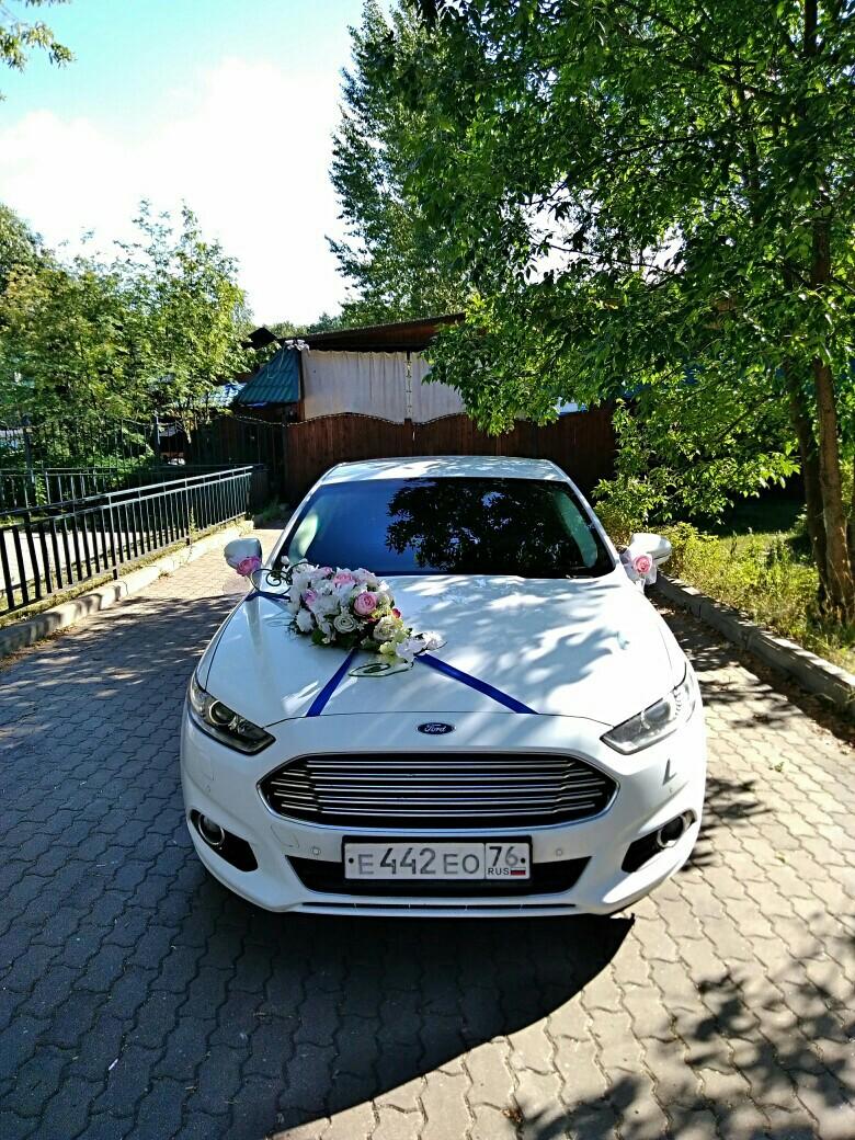Белый форд мондео на вашей свадьбе