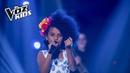 Azuquitar canta Hasta Que Te Conocí | La Voz Kids Colombia 2018