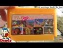 Картридж для Денди с играми Супер Марио Цирк Чарли Мотогонки Mach Rider Sky Destroyer Игры Dendy