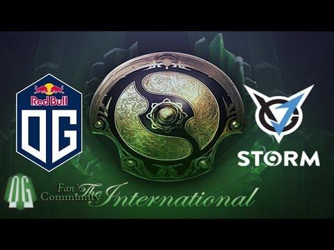 OG vs VGJ S Game 1 The International 2018 Main Event