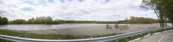 Катунь в этом месте просто буйная горная река, совсем скоро она станет обычной рекой в обычных глиняных берегах.