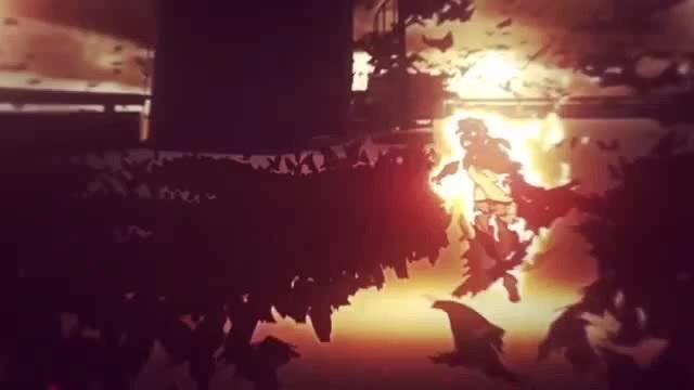 Blaze in fire