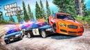 Bentley Continental GT пытается уйти от полицейской погони в GTA 5! Полицейские Догонялки в ГТА 5!
