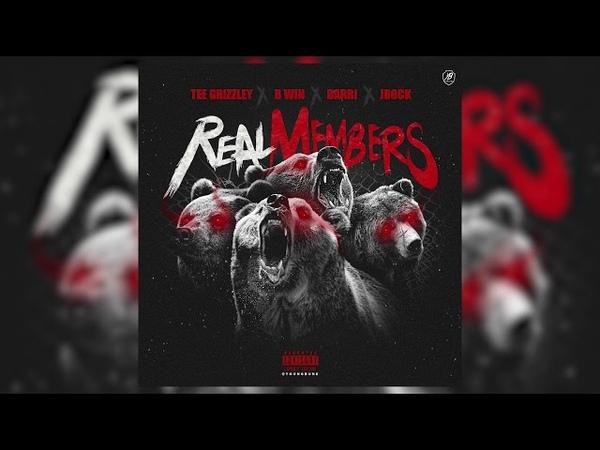 Darri feat. Tee Grizzley, B Win, JRock - Real Members (Official Audio)