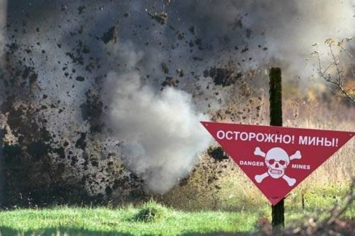 18 апреля на минной растяжке взорвался местный житель ЛНР