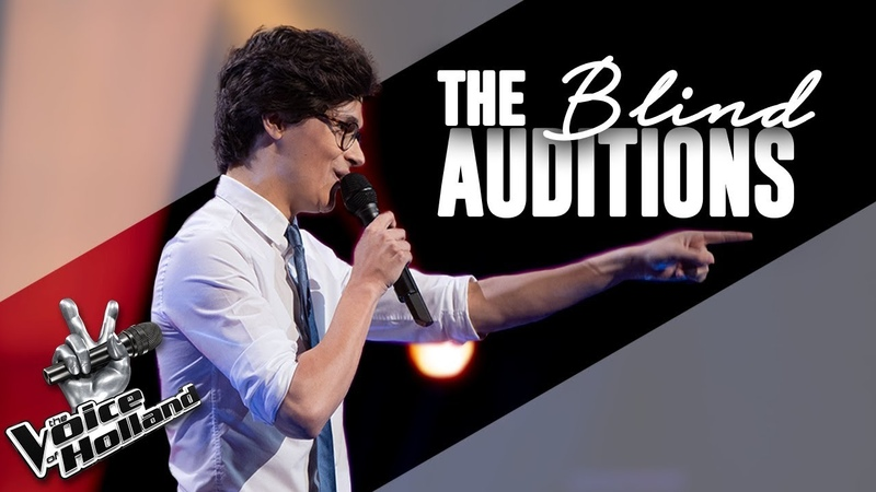 Dennis van Aarssen – That's Life | The voice of Holland | The Blind Auditions | Seizoen 9