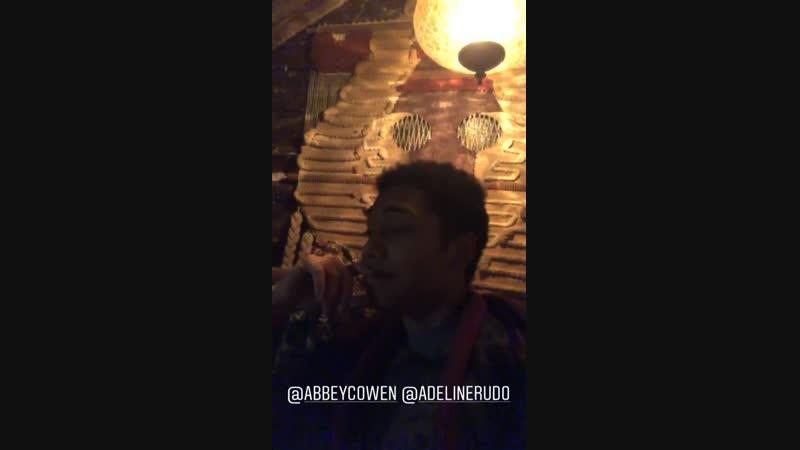 Ответ Чанса Пердомо на историю Эбигейл и Аделины Рудольф 06 12 18