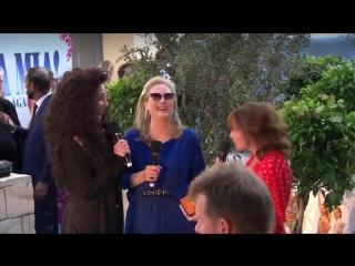 Meryl and Cher на премьере фильма «Mamma Mia. Here we go again»