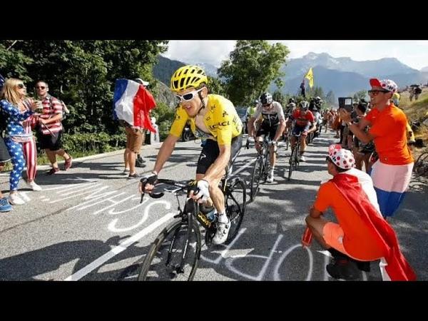 Британец Томас победил на 12-м этапе Тур де Франс