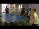 Внутриотрядная командная спартакиада по настольному теннису