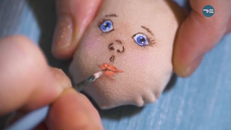 Руко-РОР. Крошки на ладошке. Текстильные куклы - «Утро с Вами» 22.10.2018