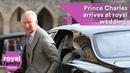 Princess Eugenie's Wedding: Prince Charles arrives without Camilla