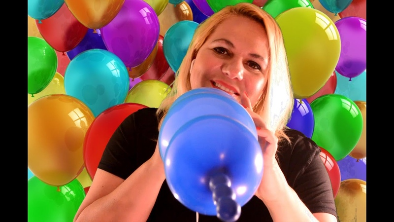 [ASMR] Blowing up Balloons - Too much fun