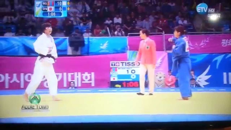 17th Asian Games INCHEON 2014 JUDO -womens 48kg Gold medal